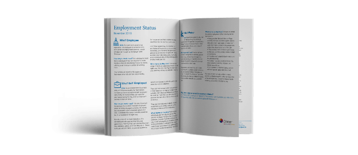 Employment Status Factsheet